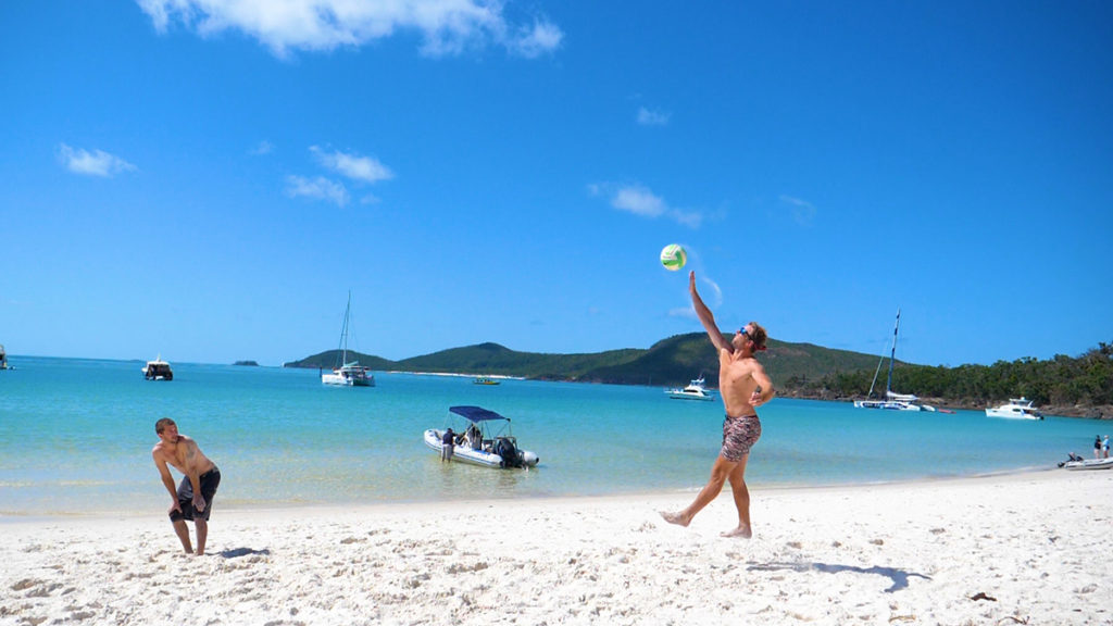 Whitehaven beach swim