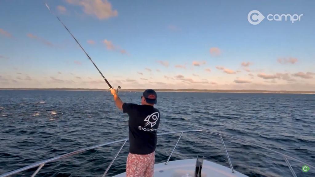 peel island fishing