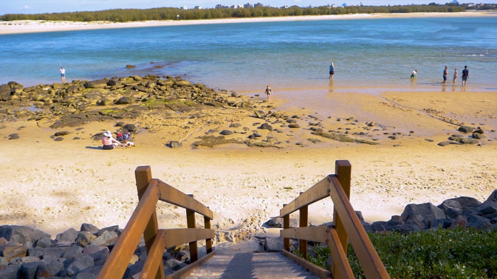 beach access for caravan parks sunshine coast