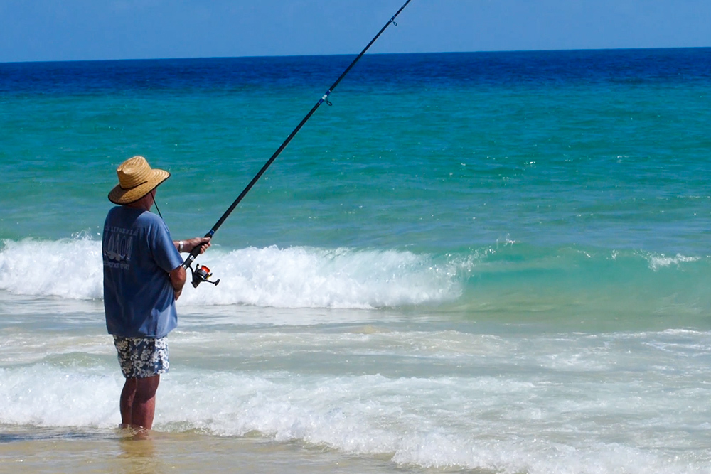 sandy cape fishing