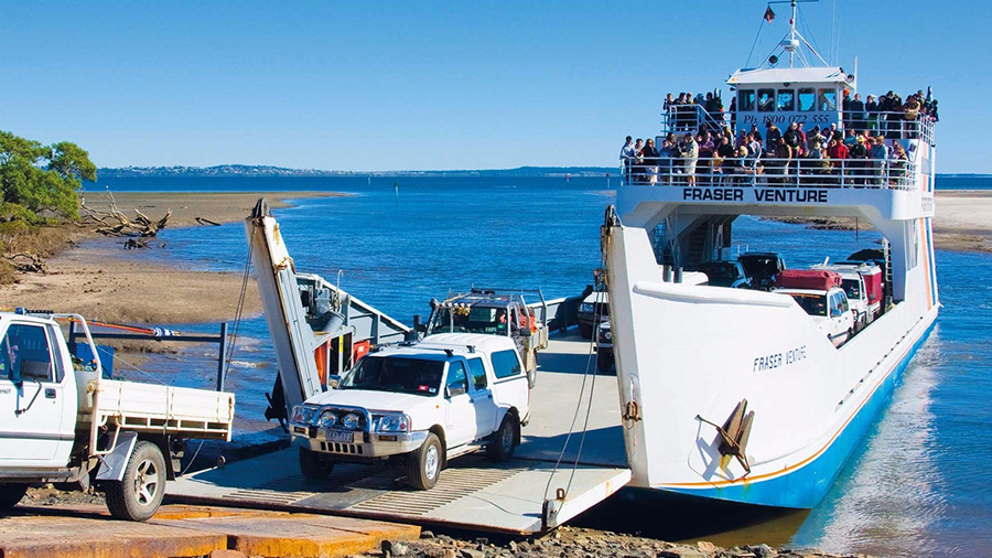 Fraser Island Inskip Point Ferry