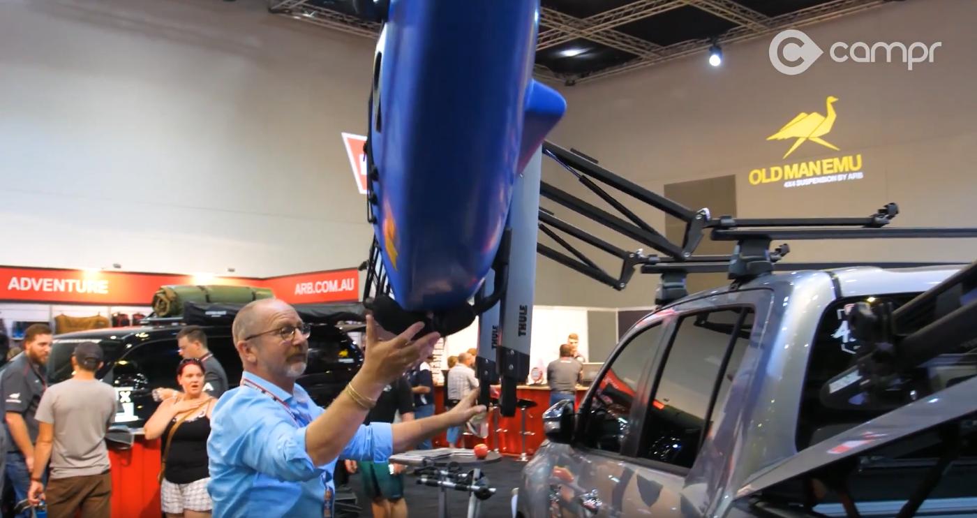 Thule Hullavator Lift-assist kayak roof racks
