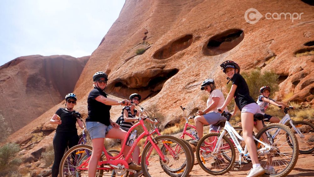 Uluru Bike tours around Ayres Rock