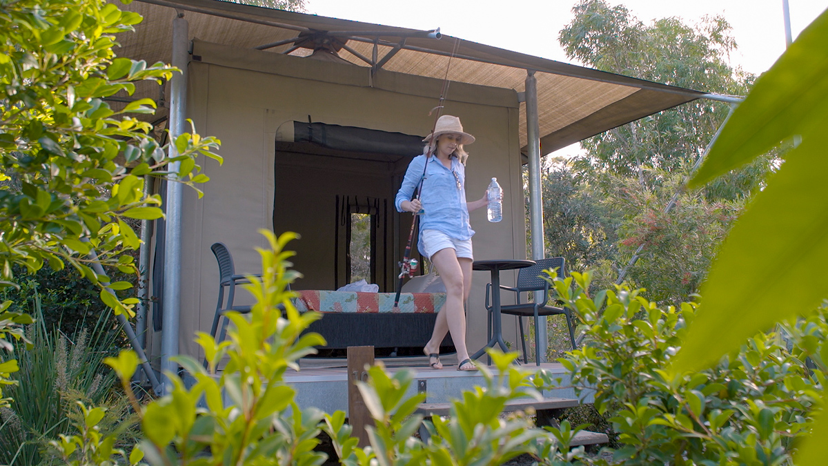 Caloundra Beach Holiday Park glamping
