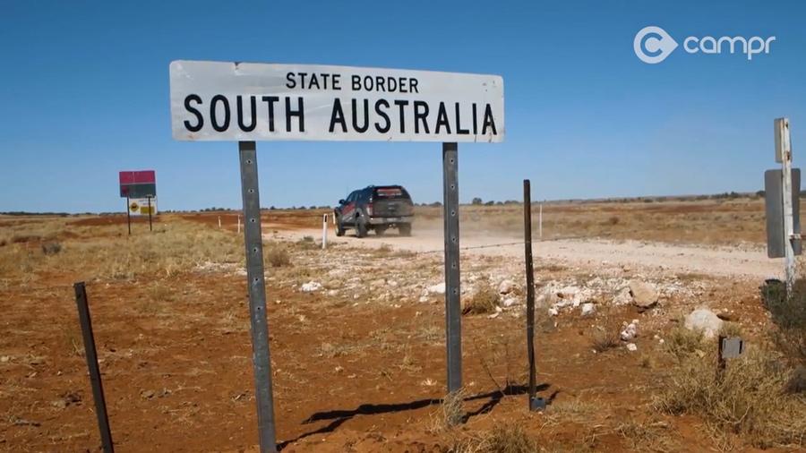 cordillo downs track south australia border