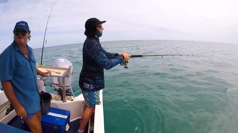 Black spot tuskies at weipa fishing classic