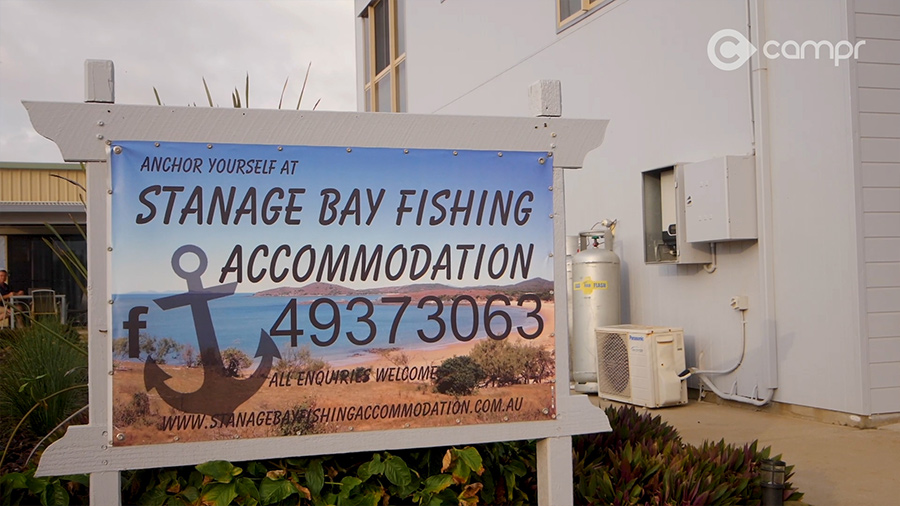 stanage bay accommodation
