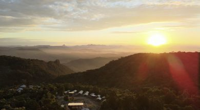 Lamington National Park Camping
